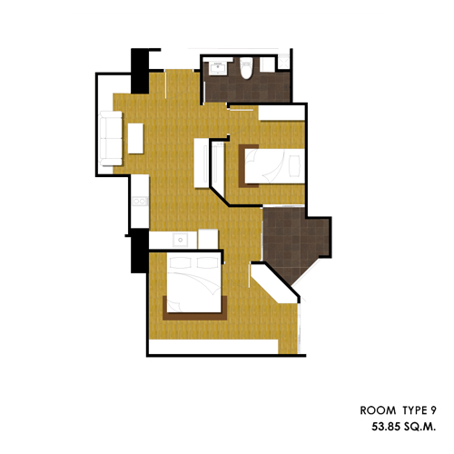 for 15 dunham place floor plans